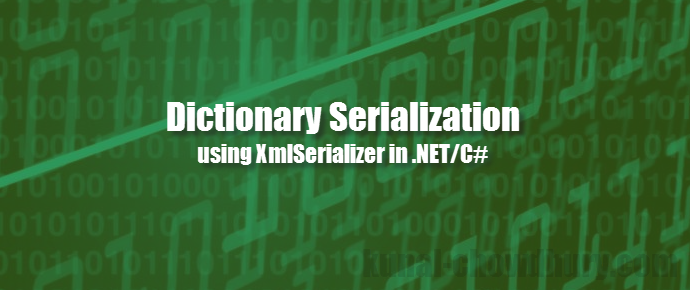 Dictionary serialization using C# (www.kunal-chowdhury.com)