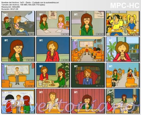 Daria - Temporada 1 [Completa] [Español Latino] [Userscloud]