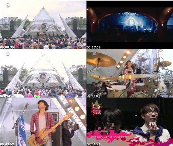 [TV-Variety] SPACE SHOWER SWEET LOVE SHOWER 2015 -20th ANNIVERSARY- FOREST STAGE SPECIAL Day2 (SSTV …
