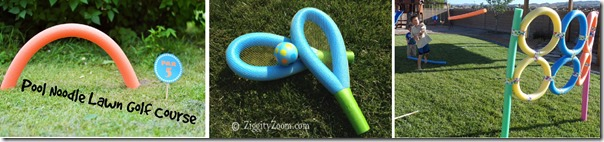 pool noodle lawn games