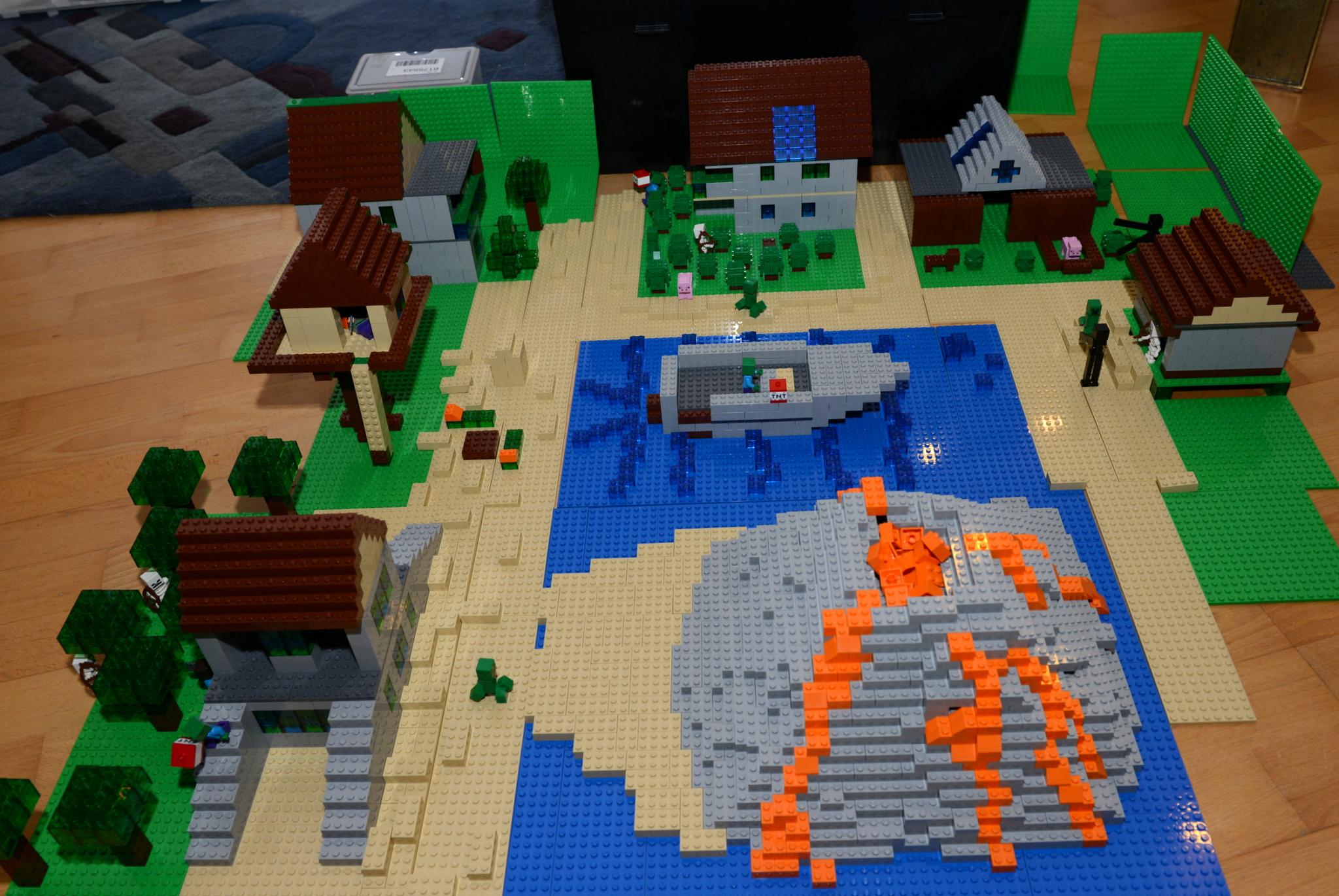 re neues minecraft set 21128 the village zu teuer. Black Bedroom Furniture Sets. Home Design Ideas