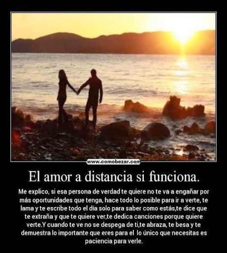 Frases de amor a distancia ~ PENSAMIENTOS DE AMOR