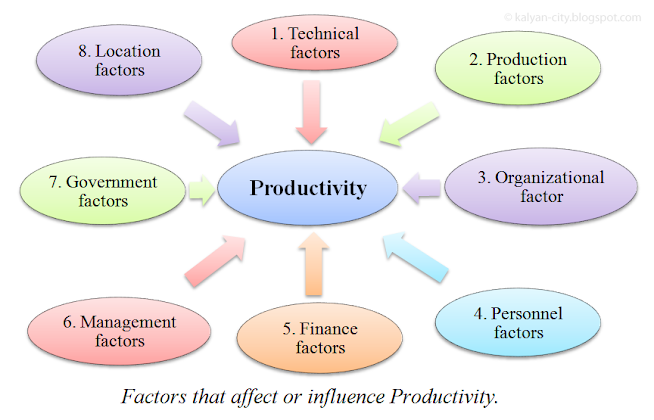 Factors that affect productivity