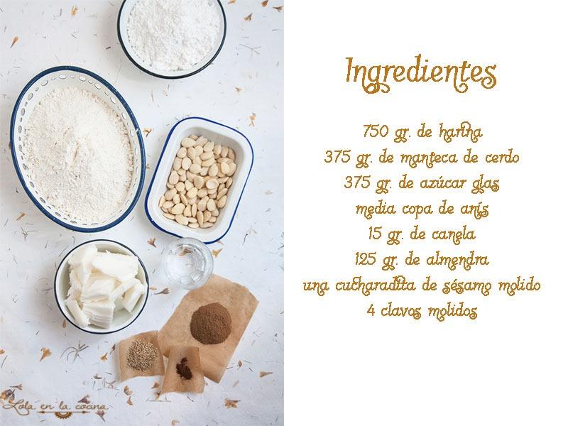 polvorones-almendra-ingredientes