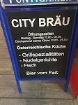 Im City Bräu in Salzburg. Von Kristin und Emma
