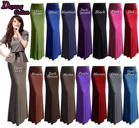 Skirt DUYUNG plain