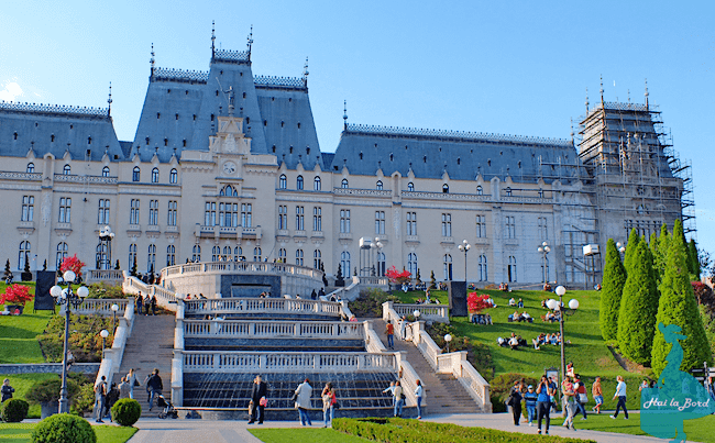 palatul culturii vedere palas mall iasi