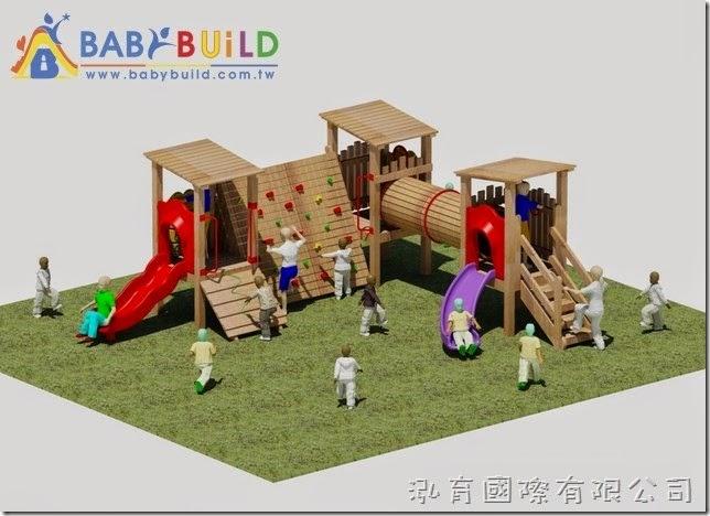 BabyBuild 木頭遊戲設施規劃