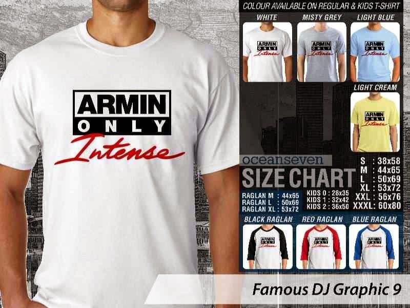 KAOS Musik DJ 9 Armin Only Intense distro ocean seven