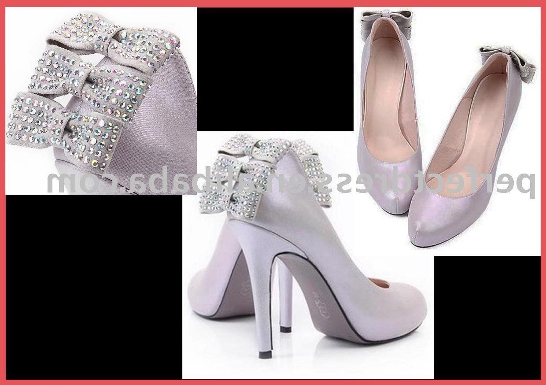 fashion pearl High heel bridal