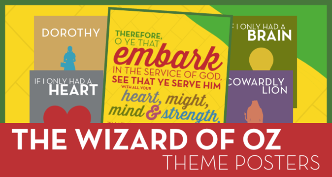 The Wizard of Oz 2015 Theme Posters for Young Women