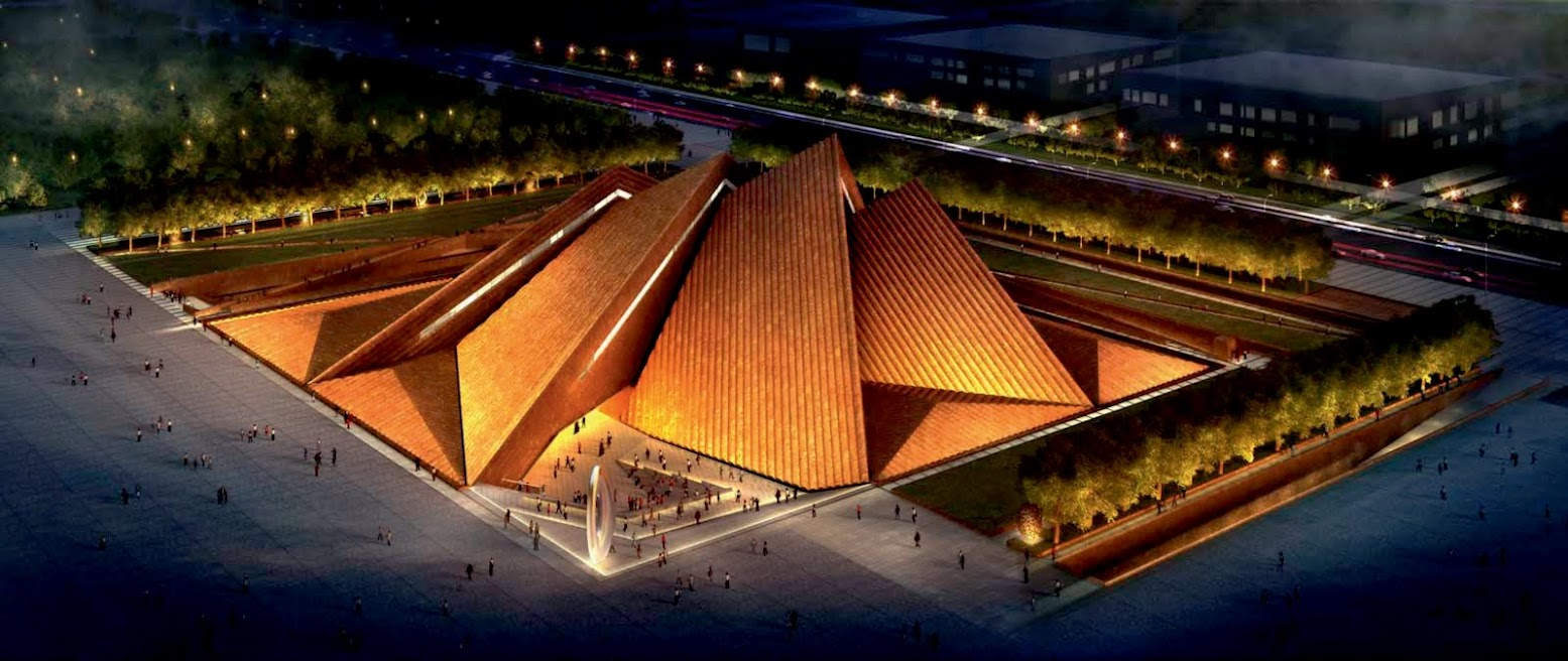 Datong, Sciansi, Cina: [DATONG ART MUSEUM BY NORMAN FOSTER]