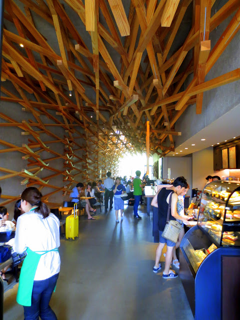 Inside the Dazaifu Starbucks