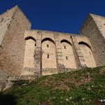 Château de la Madeleine : façade sud