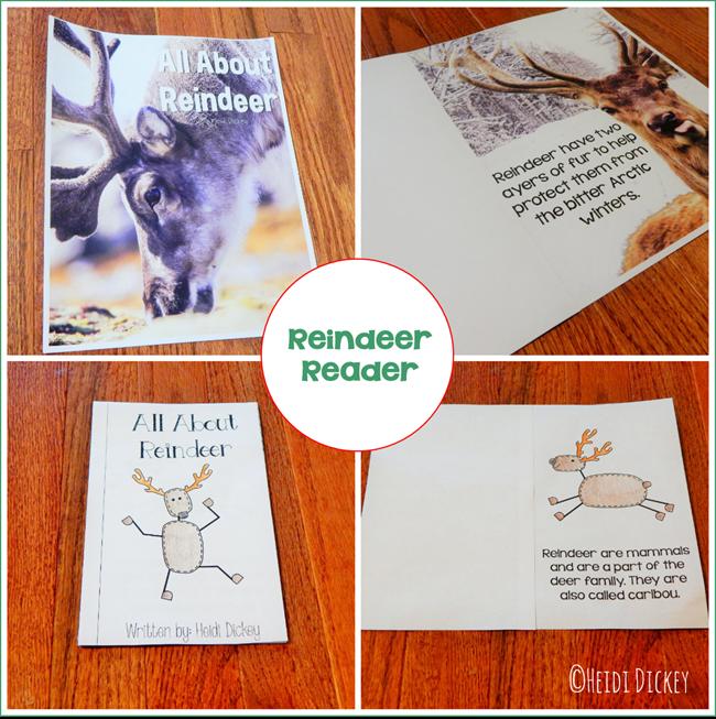 Reindeer Thematic Reader