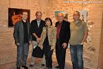 12: Ruiz del Puerto, Esdras Serna, Esther Hinojosa, Juan Grecos y Albert Forment en Sagunto
