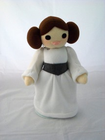 Cuddly Plush Space Princess by Handmade Stuffs