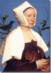 dama-con-ardilla-y-estornino-hans-holbein-el-joven-1528