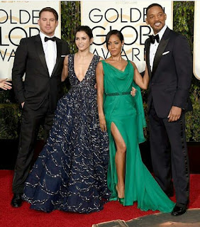 Channing Tatum, Jenna Dewan Tatum, Jada Pinkett Smith and Will Smith