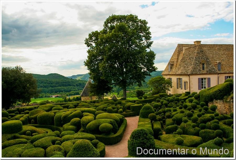 Jardins de Marqueyssac; locais mais visitados em França; o que visitar na Dordonha