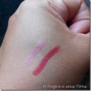 Velvet matte lip pencil cruella e Satin Lip Pencil Rikugien