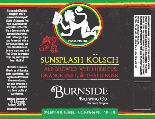 image courtesy Burnside Brewing