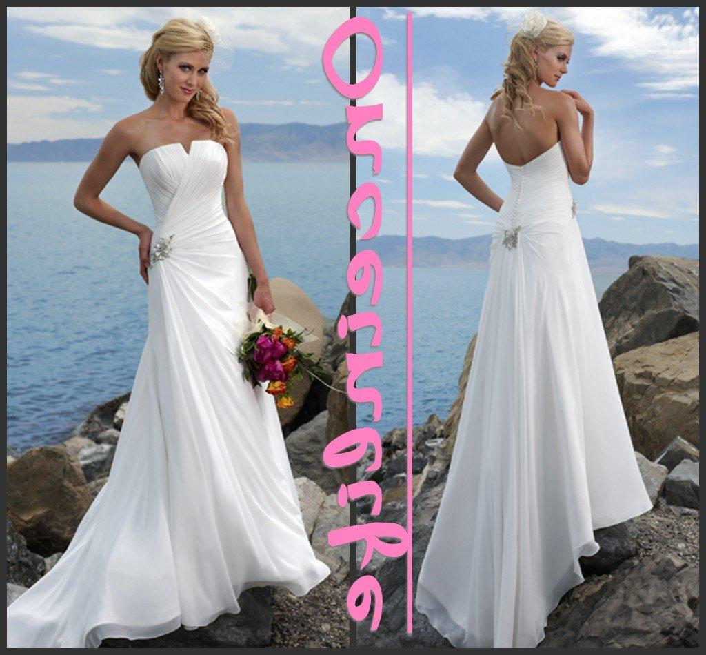 Buy beach wedding dress, beach bridal dress, beach dress for wedding,