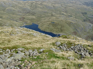 Stickle Tarn is much further away now