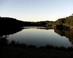 Lake Needwood at sunset, Rock Creek Park, Rockville, Maryland.