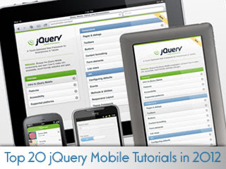 Best jQuery Mobile Tutorials in 2012
