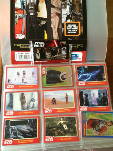 Topps Star Wars Journey to Star Wars: The Force Awakens