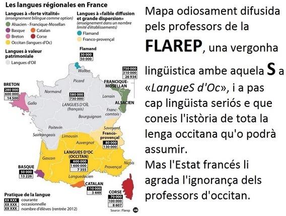 mapa de la Flarep comentada