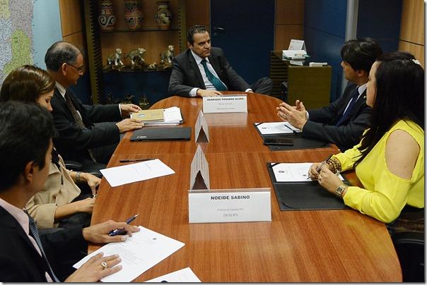 Reunião Dnocs com prefeita de Equador
