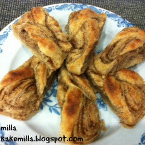 Kringle (Eggfri) / Norwegian Wheat Cake (Eggless)