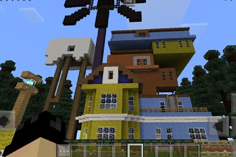 Mod Hello Neighbor Adventure Map for MCPE
