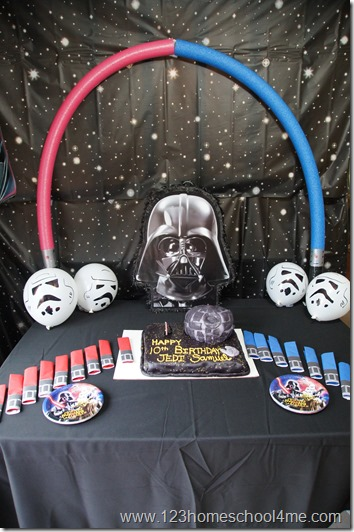 star wars birthday party theme