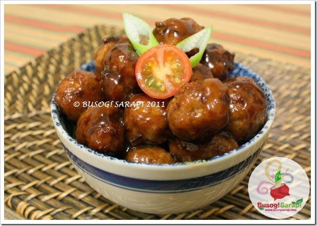 JAPANESE PORK MEATBALLS PIC2