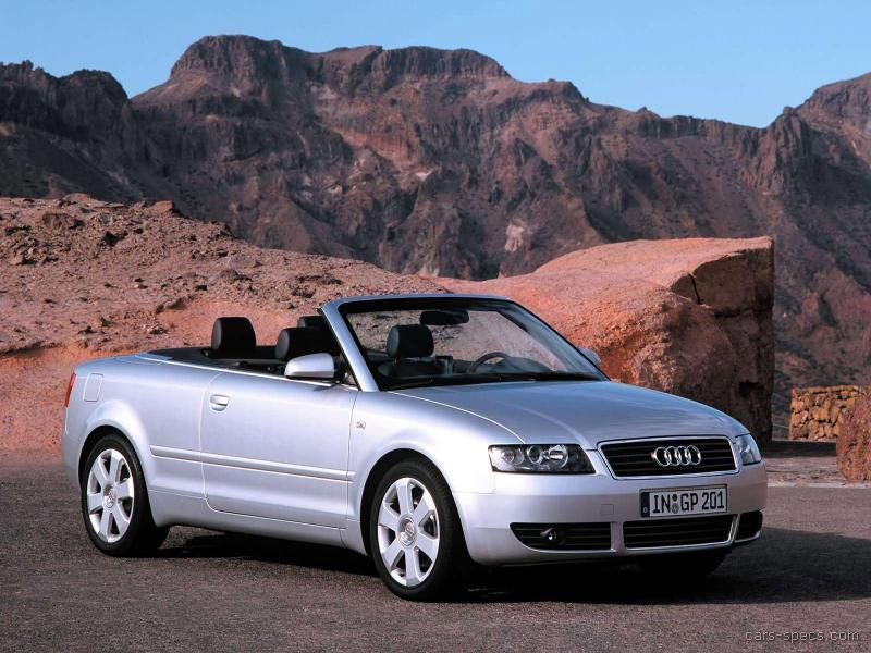 2004 audi a4 convertible specifications pictures prices. Black Bedroom Furniture Sets. Home Design Ideas