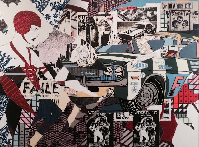 Faile at Savage/Sacred Young Minds, Brooklyn Museum