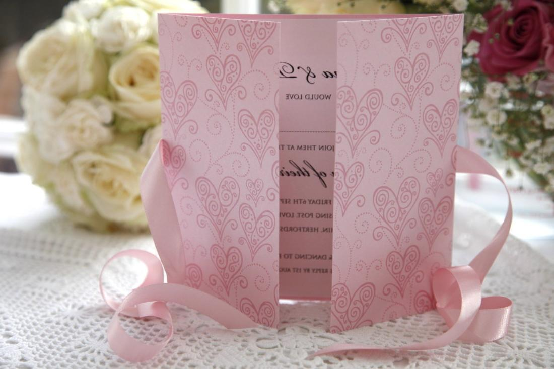Cherish Wedding Invitation