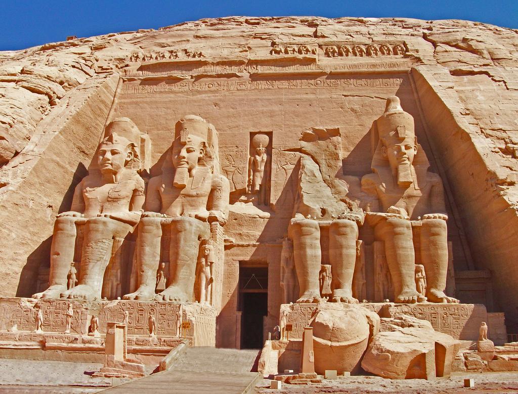 Ancient Egyptians built