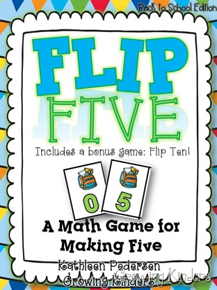 flip 5 back to school