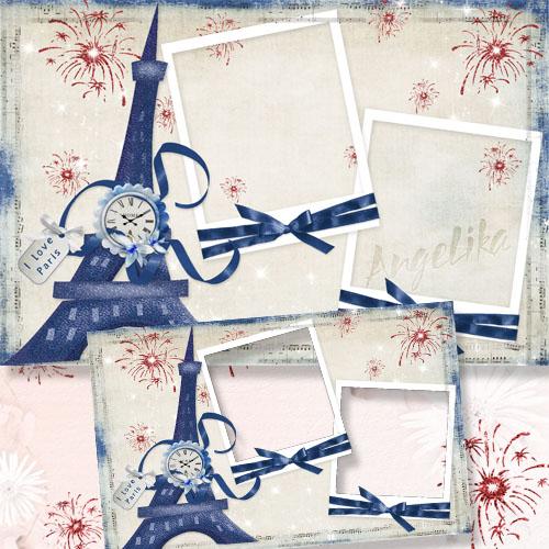 Frame for Photo - I Love Paris