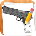 How to Draw Weapons APK for Bluestacks
