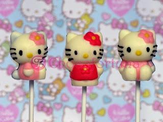 Coklat cokelat Lolipop Hello Kitty sanrio