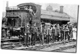 Railway Workers in the 1900's