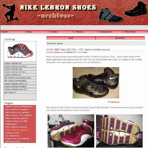 The Makeover8230 NIKELEBRONnet ver 40