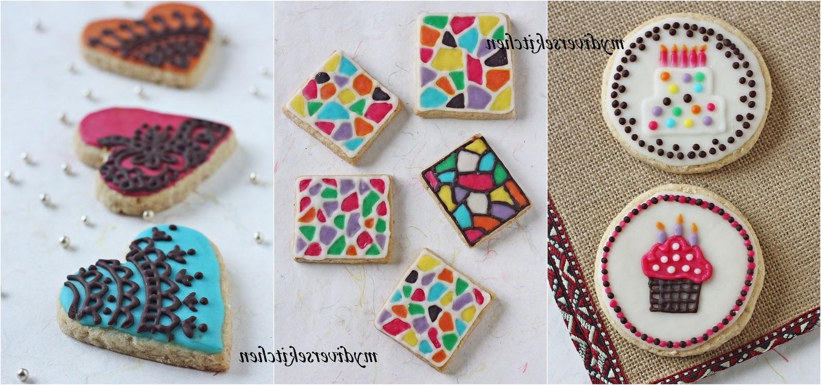 Birthday Cake Cookies, Tile