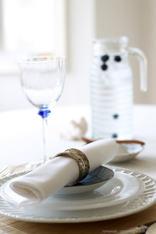 Summer Coastal Table Setting Faultless Starch by homework (10)