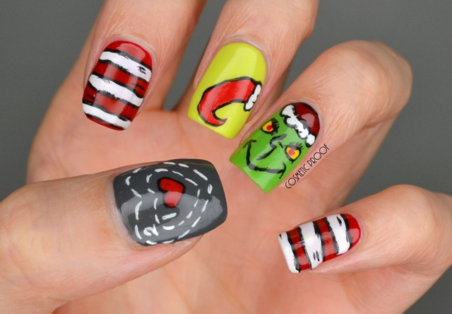 Christmas Grinch Nail Art Essence (5)